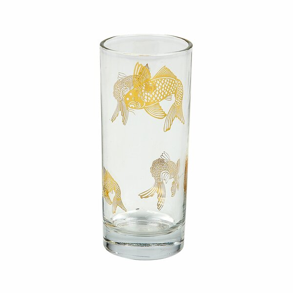 Tinsley Mortimer Koi Highball (Set of 4) by Tinsley Mortimer
