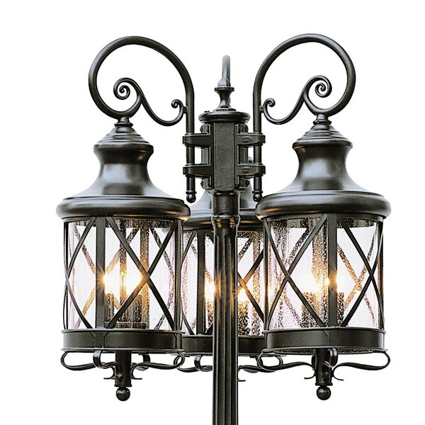 Landon 6-Light 81 Post Light by Laurel Foundry Modern Farmhouse