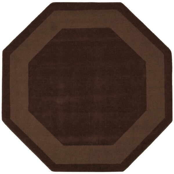 Transitions Chocolate Border Rug by St. Croix