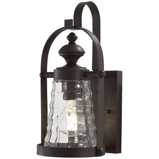 Reviews Elwell Outdoor Wall Lantern By August Grove