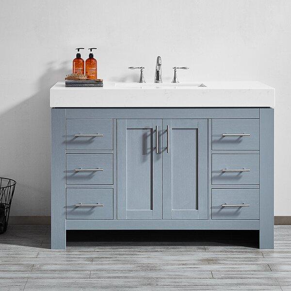 Neva 48 Single Bathroom Vanity Set by Wrought Studio