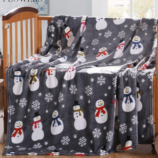 Vivian Barn Holiday Fleece Throw by The Holiday Aisle