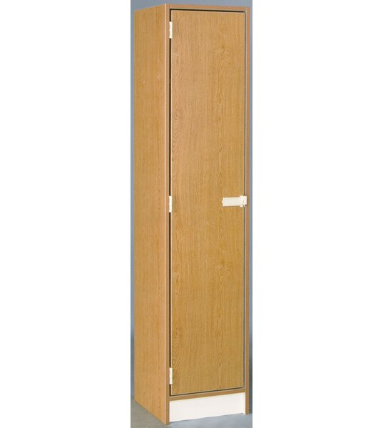 1 Tier 1 Wide School Locker by Stevens ID Systems