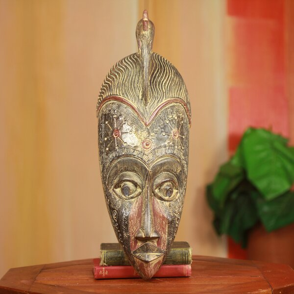 Decorative Victory Fair Trade African Mask by Novica