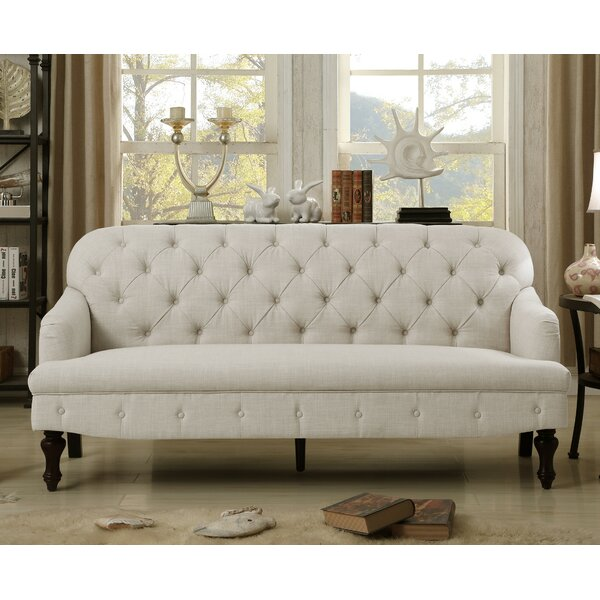 Janay Tufted Sofa by Three Posts