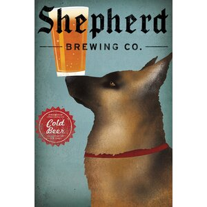 Shepherd Brewing Co. Graphic Art on Wrapped Canvas by East Urban Home
