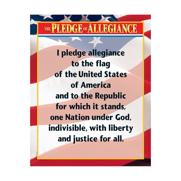Pleadge of Allegiance Chart by Creative Teaching Press