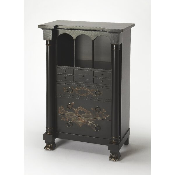 Beeching Secretary Armoire by Butler