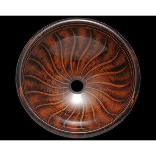 Best Glass Circular Vessel Bathroom Sink ByPolaris Sinks