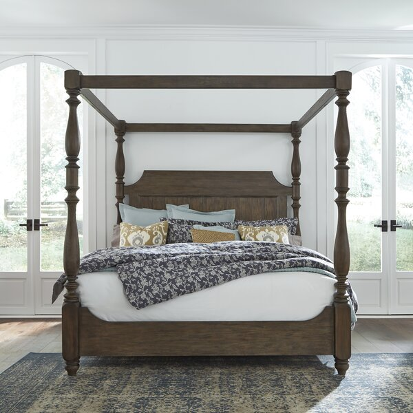 Torben Queen Canopy Bed by Gracie Oaks