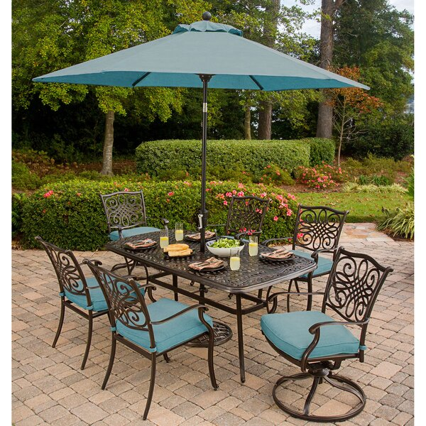 Barrowman 9 Piece Dining Set by Darby Home Co