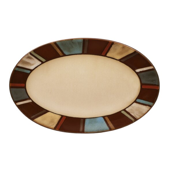Nile Oval Platter by Pfaltzgraff