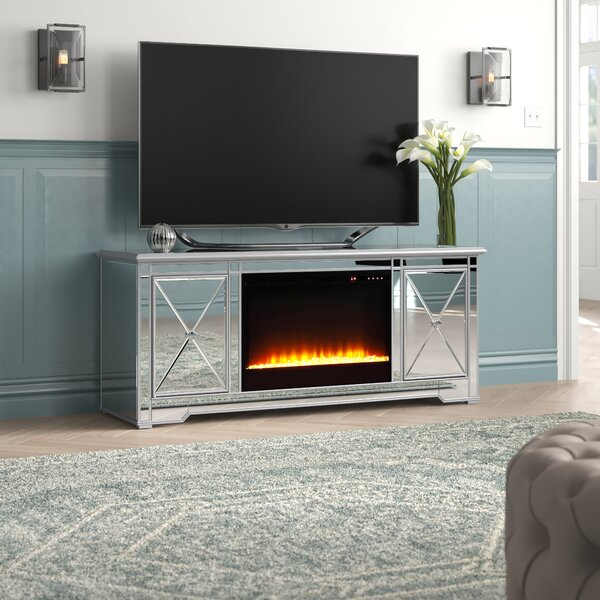Zariyah Solid Wood TV Stand For TVs Up To 70