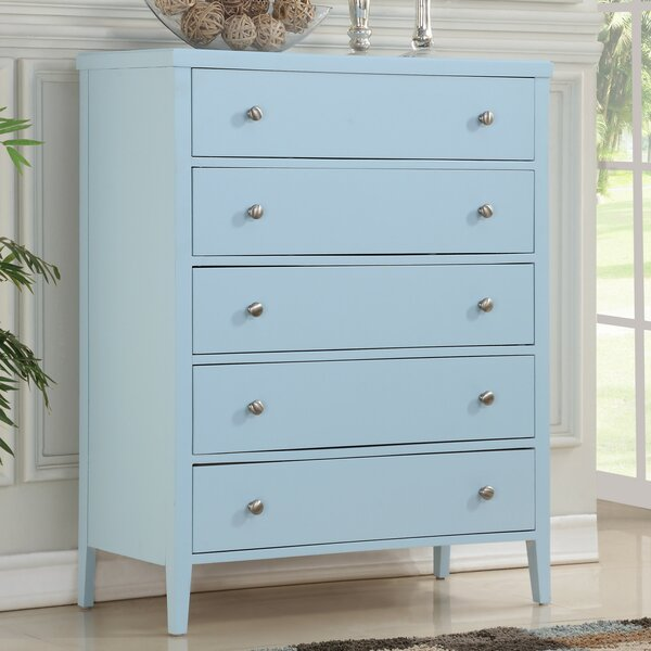 Howlett 5 Drawer Dresser by Highland Dunes