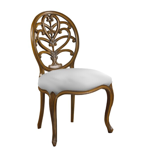Leonetti Solid Wood Dining Chair by Astoria Grand