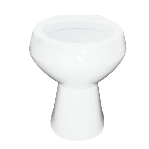 McKinley Round Toilet Bowl by Transolid