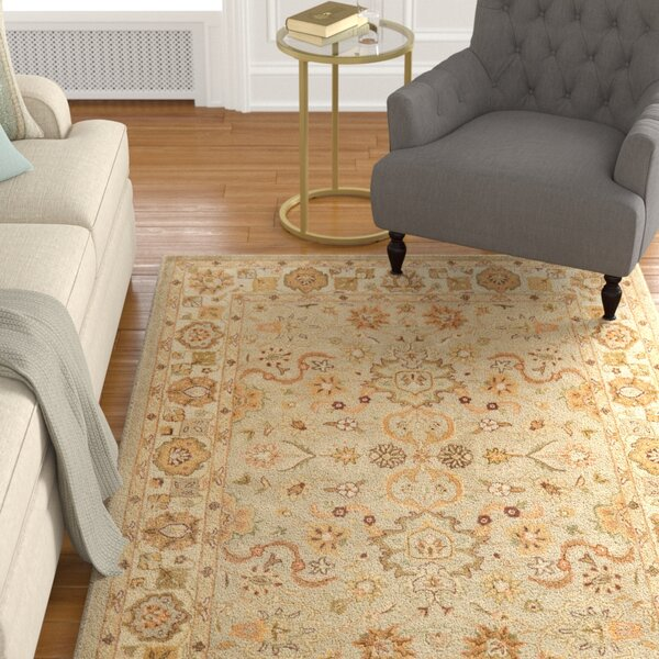 Cranmore Beige Area Rug by Charlton Home