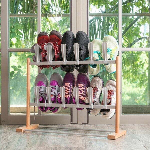Modern Pop On 12 Pair Shoe Rack