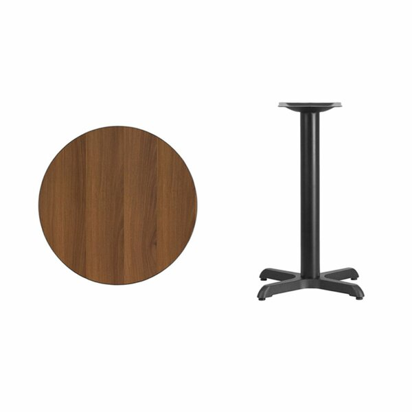 Lula Round Laminate Dining Table by Symple Stuff