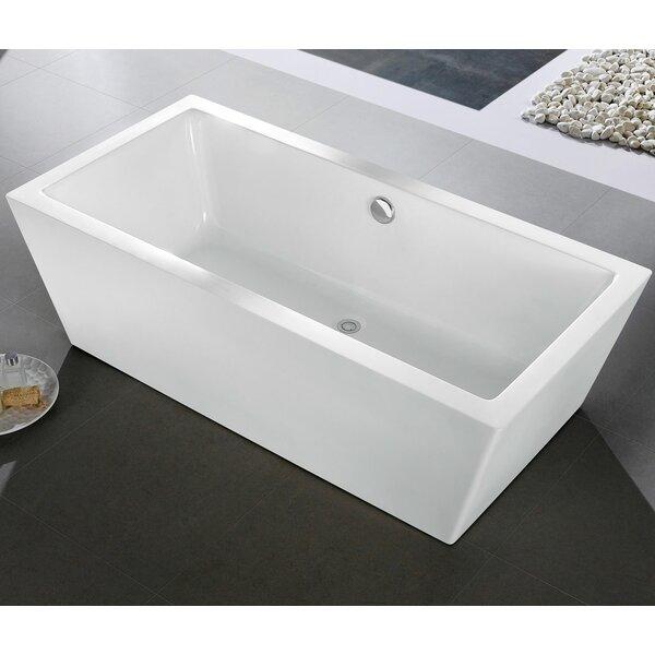 Wynn 59 x 30 Soaking Bathtub by Pacific Collection