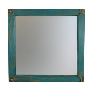 Looking for Flores Square Concho Cross Vanity Wall Mirror By Bloomsbury Market