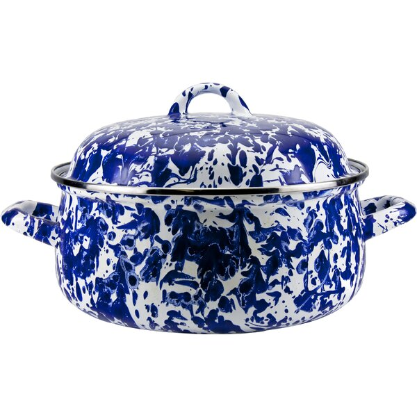 4 Qt. Porcelain Oval Dutch Oven with Lid by Birch Lane™