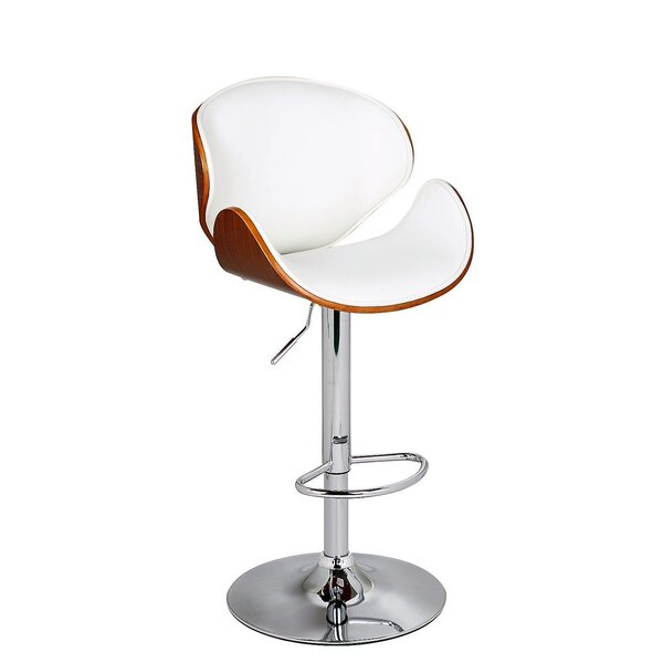 Cioffi Adjustable Height Bar Stool by George Oliver