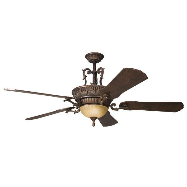 60 Perez 5 Blade LED Ceiling Fan by Alcott Hill