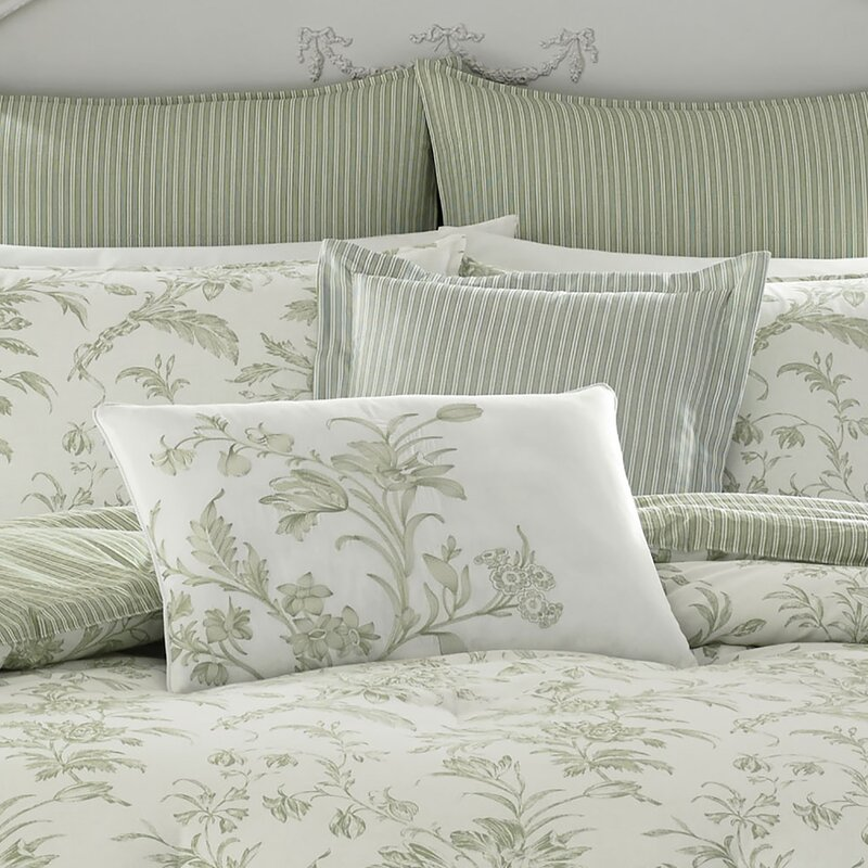 Laura Ashley Home Natalie 100 Cotton Comforter Set By