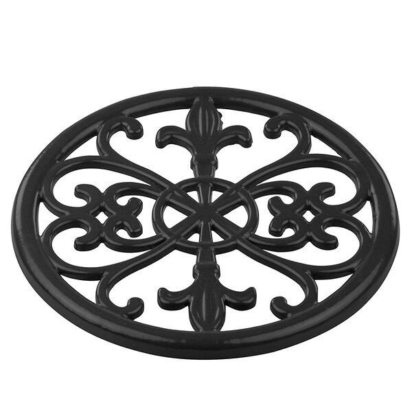 Fleur De Lis Trivet (Set of 6) by Sweet Home Collection
