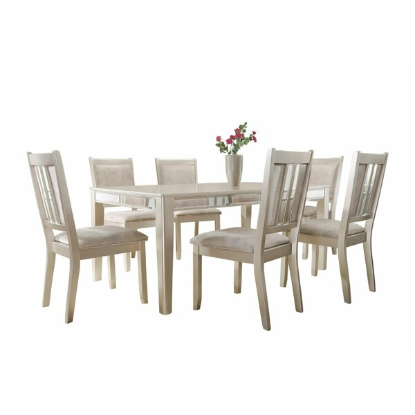 Harmony  7 Piece Standard Height Dining Set by House of Hampton
