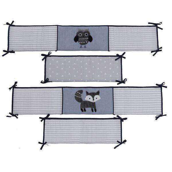 Stay Wild Owl 4 Piece Crib Bumper by Lambs & Ivy
