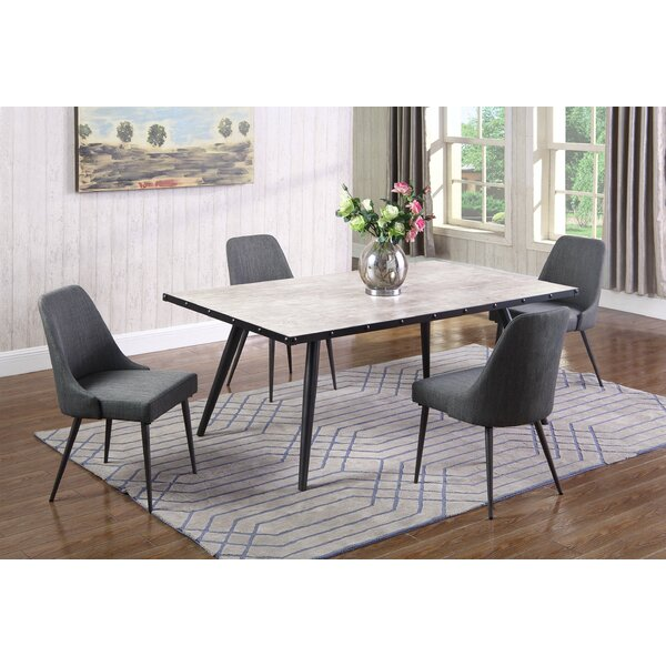 Brantley 5 Piece Dining Set by 17 Stories 17 Stories