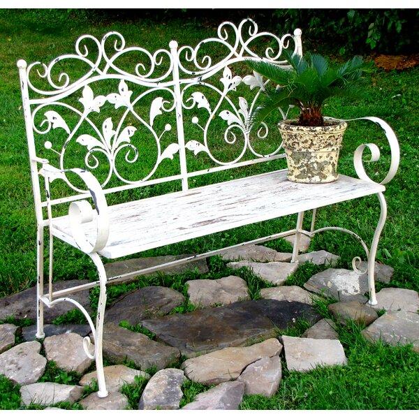 Ciara Iron Garden Bench