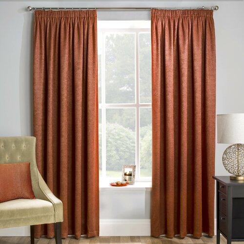 Armington Pencil Pleat Room Darkening Thermal Curtains