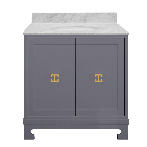 Candace 31 Single Bathroom Vanity Set by Worlds Away