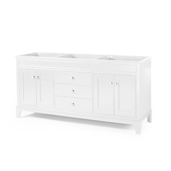 Janice Locke 72 Double Bathroom Vanity Base Only