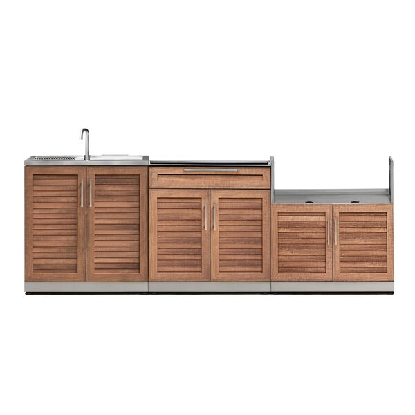 @ Kitchen 3 Piece Outdoor Bar Center Set by NewAge Products| #$2,849.99!
