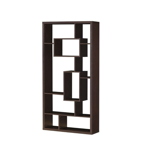 Laflamme Geometric Bookcase By Wrought Studio