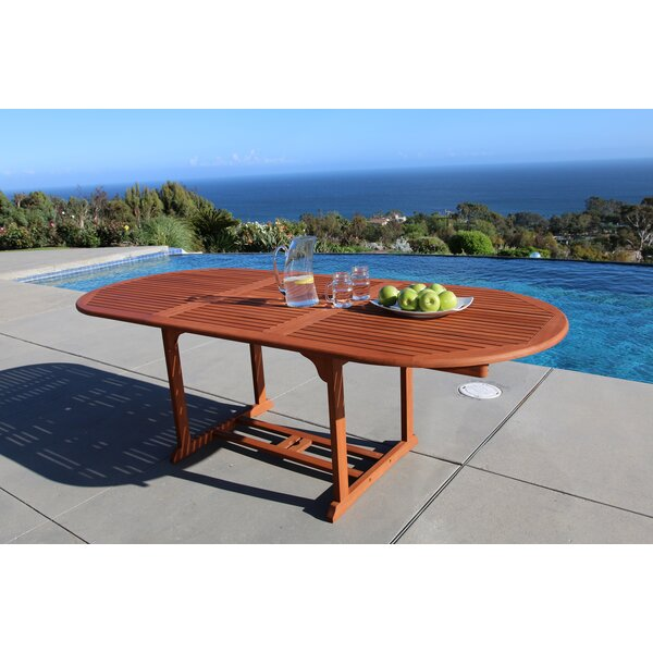 Vista Extension Butterfly Dining Table by Vifah