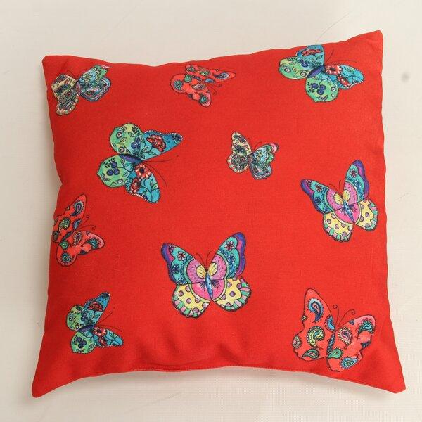 Decorative Butterflies Throw Pillow by Wow Works LLC