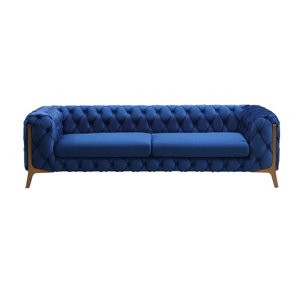 Knoxville Tufted Sofa by Everly Quinn