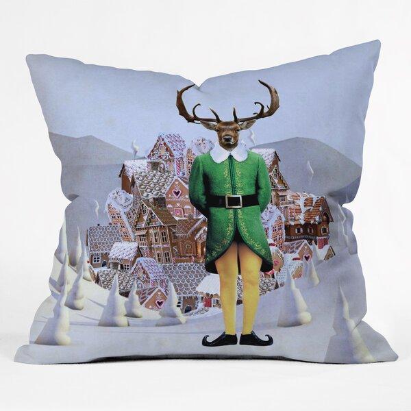 Natt Elfland Throw Pillow by Deny Designs