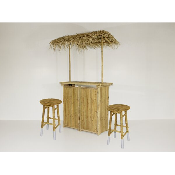Fergal 3 Piece Tiki Bar Set by Bayou Breeze