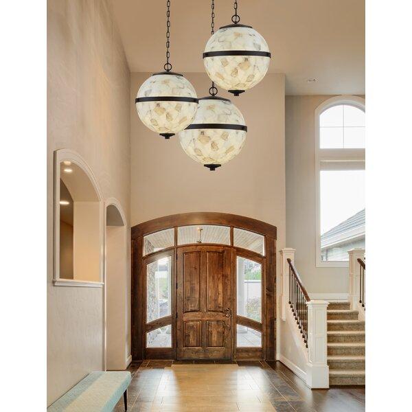 Mackey Hanging 3-Light Globe Chandelier by Bloomsbury Market