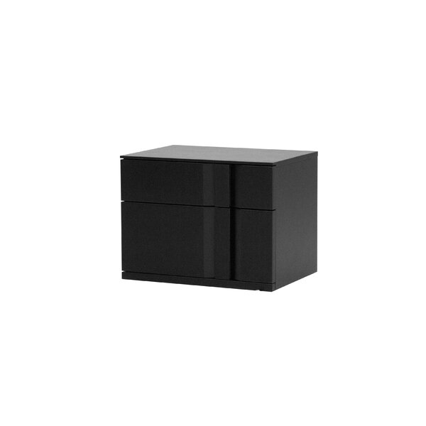 Elkita Right Side Facing 2 Drawer Nightstand By Latitude Run
