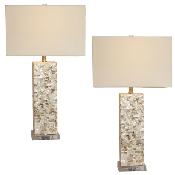 Mosaic 28 Table Lamp (Set of 2) by Urban Designs