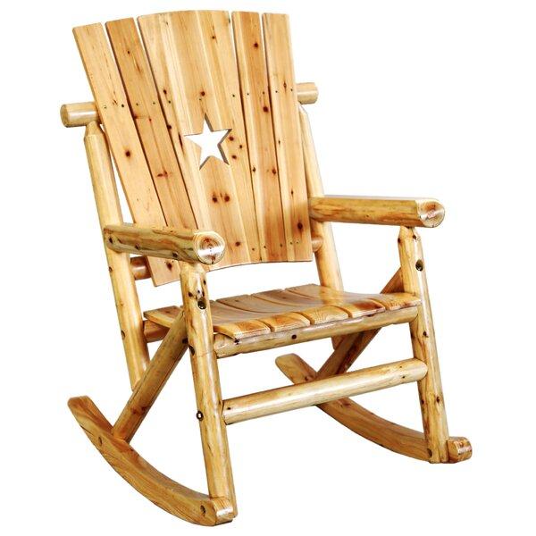 Alaniz Star Single Rocking Chair by Millwood Pines