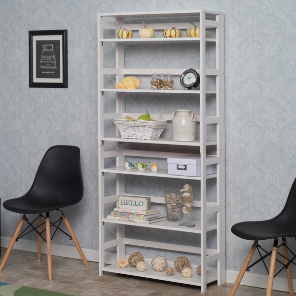 Flip Flop Folding Standard Bookcase by Regency