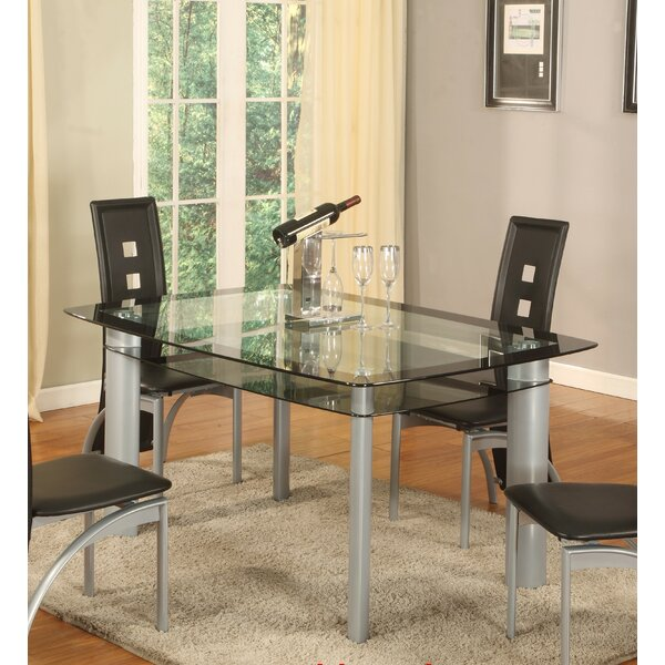 Metro Dining Table by Global Trading Unlimited